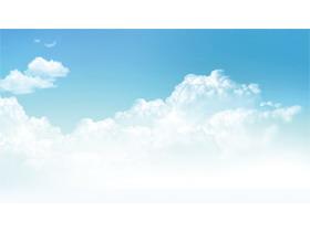 淡雅蓝天白云必发88背景图片
