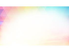 ���彩色���抽象PPT背景�D片