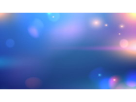 蓝色模糊iOS风格PPT背景图片免费下载