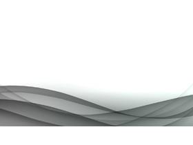 灰色抽象曲线PPT背景图片
