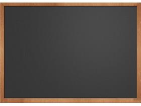 木质边框的黑板PPT背景图片
