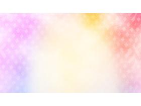 粉色紫色渐变PPT背景图片