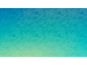 蓝绿渐变多边形PPT背景图片
