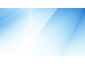 简洁蓝色玻璃质感PPT背景图片