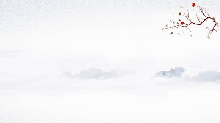 九张古典水墨中国风PPT背景图片