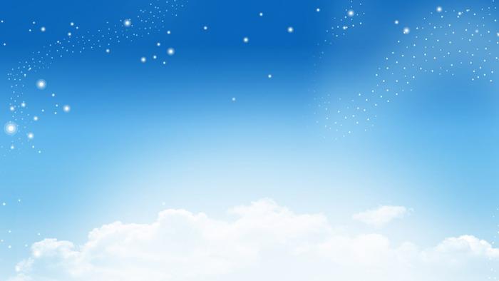 蓝天白云星空ppt背景图片图片