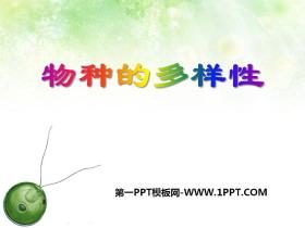 《物种的多样性》PPT下载