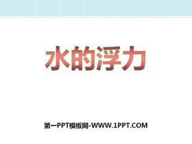 《水的浮力》PPT下载
