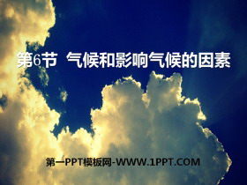 《气候和影响气候的因素》PPT课件