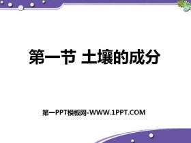 《土壤的成分》PPT