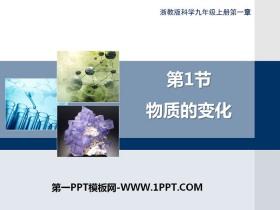 《物质的变化》PPT