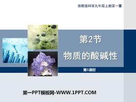 《物质的酸碱性》PPT