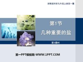 《几种重要的盐》PPT(第三课时)