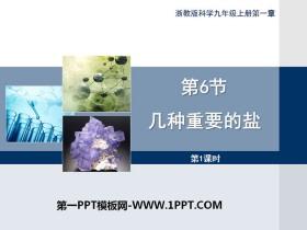 《几种重要的盐》PPT(第一课时)