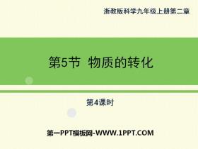 《物质的转化》PPT(第四课时)
