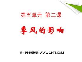 《季风的影响》中华各族人民的家园PPT