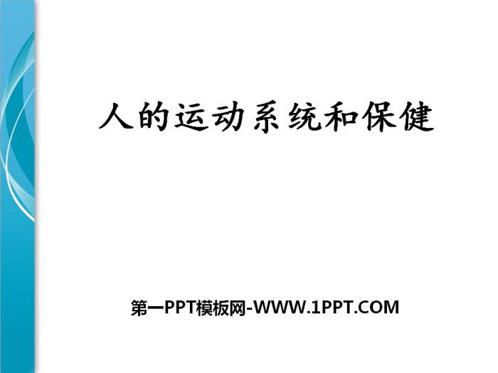 《人的运动系统和保健》PPT