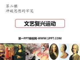 《文艺复兴运动》世界工业文明的曙光与近代社会的开端PPT课件