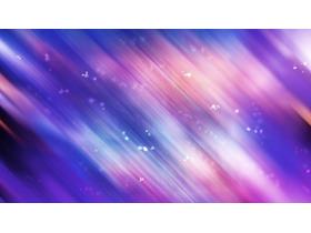 紫色梦幻模糊PPT背景图片