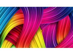 彩色炫彩PPT背景图片