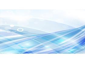 抽象蓝色空间线条幻灯片背景图片