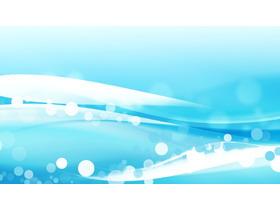 蓝色梦幻泡泡PPT背景图片