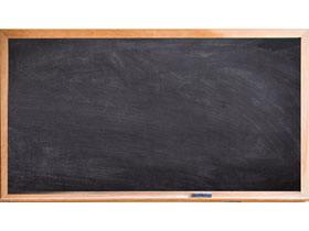 木质边框黑板PPT背景图片
