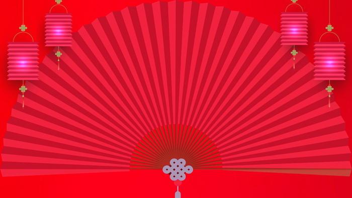 七张喜庆春节新年PPT背景图片