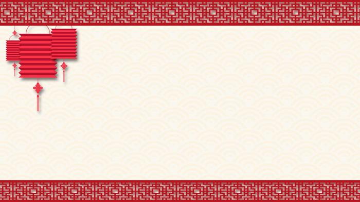 八张剪纸风格新年ppt背景图片  关键词:荷花,灯笼,梅花,燕子剪纸幻灯