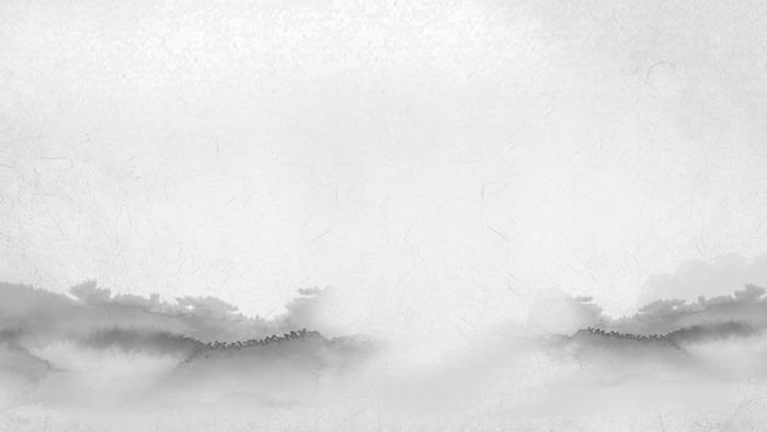 四张古典水墨中国风PPT背景图片