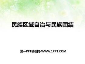 《民族区域自治与民族团结》新中国的建设与改革PPT课件