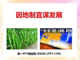 《因地制宜谋发展》共同面对前所未有的挑战PPT课件