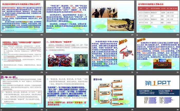 《如何面对和平与发展时代的主题》跨世纪的中国与世界PPT