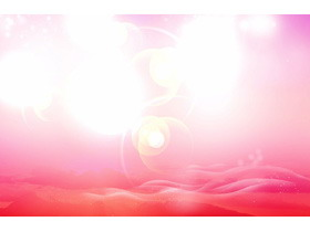 粉色唯美梦幻PowerPoint背景图片