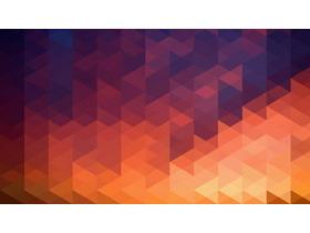 滤镜效果多边形PPT背景图片