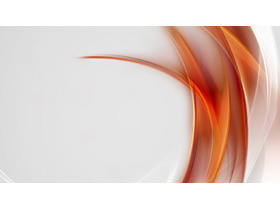 橙色抽象��lPPT背景�D片