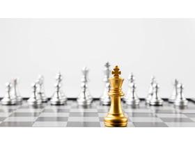 国际象棋PPT背景图片