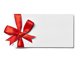 礼物包装盒PPT背景图片