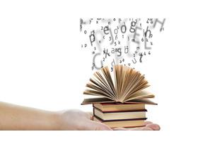 词典字母PPT背景图片