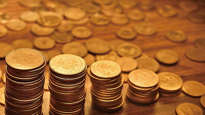 金币货币金融ppt背景图片图片
