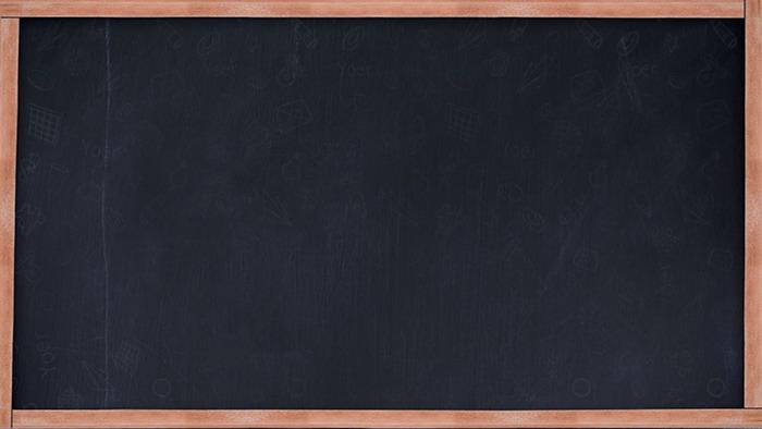 兩張逼真黑板ppt背景圖片