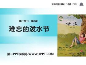 《难忘的泼水节》PPT课件tt娱乐官网平台