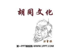 《胡同文化》PPT免费课件