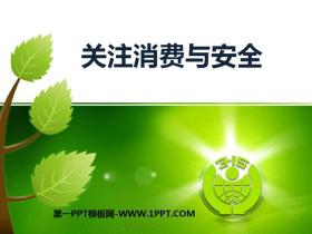 《关注消费与安全》PPT