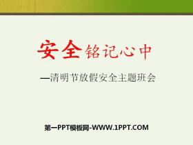 《安全��心中》PPT