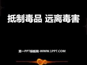 《抵制毒品 远离毒害》PPT