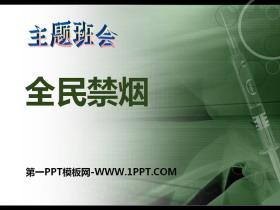 《全民禁烟》PPT