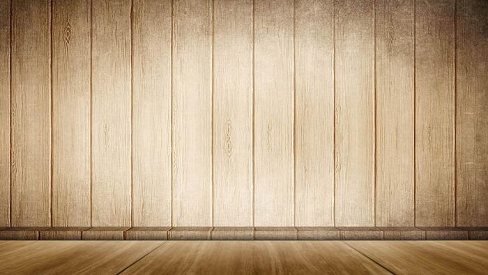 古典木纹木板PPT背景图片