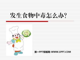 《发生食物中毒怎么办?》PPT