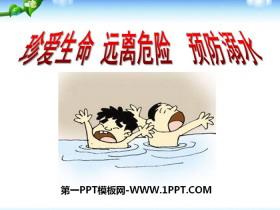 《珍�凵�命 �h�x危�U �A防溺水》PPT